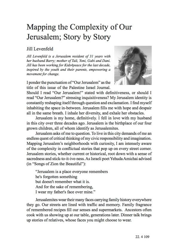 Jill Levenfeld1